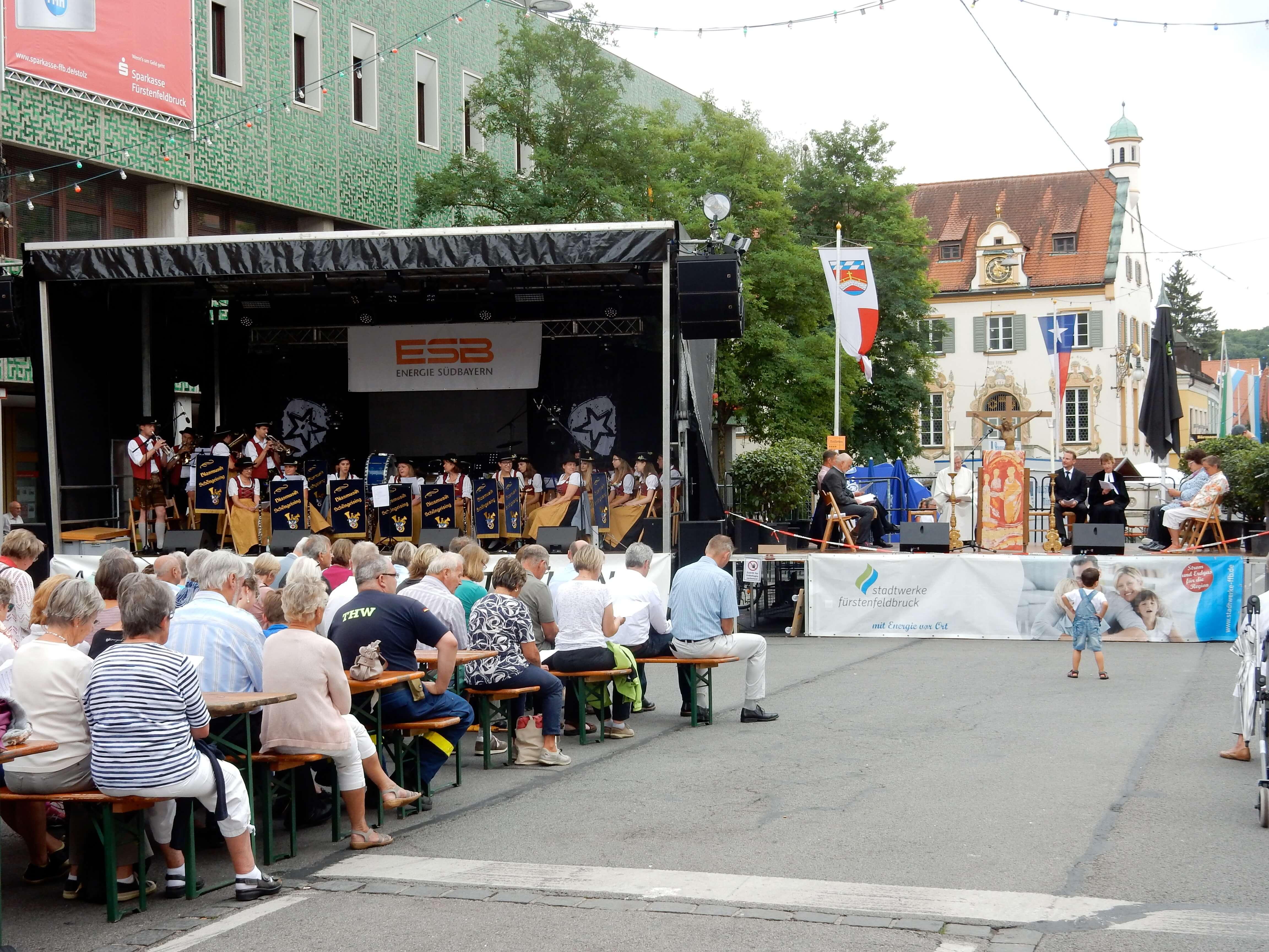 Altstadtfestgottesdienst 2017 - Gesamtschau